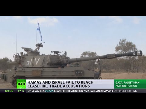 Calls - The UN Security Council calls for an immediate ceasefire in Gaza, where fighting has continued after failed attempts to agree on a truce between Hamas and Israel. Harry Fear reports for RT...