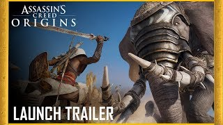 Assassin's Creed Origins: Launch Trailer | Legend of the Assassin | Ubisoft [NA]