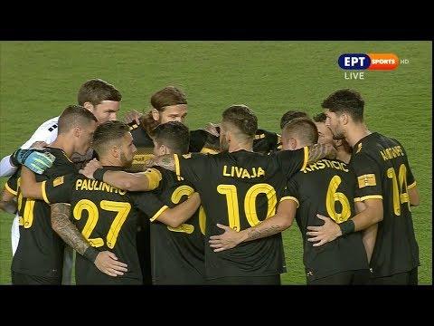 Video - Παναιτωλικός - ΑΕΚ: Αν έχεις Λιβάγια... διάβαινε - Μεγάλο διπλό μέσα στο Αγρίνιο