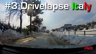 Mosciano Sant'Angelo Italy  city pictures gallery : Drivelapse Italy #3 Time Lapse Road Trip Giulianova Ripoli Mosciano Sant'Angelo Neve Bufera 2012