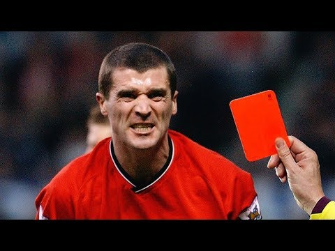 ⚽ TOP FAMOUS RED CARDS IN FOOTBALL HISTORY ● ROY KEANE ● ZIDANE ● RONALDO ● MESSI AND OTHERS ●
