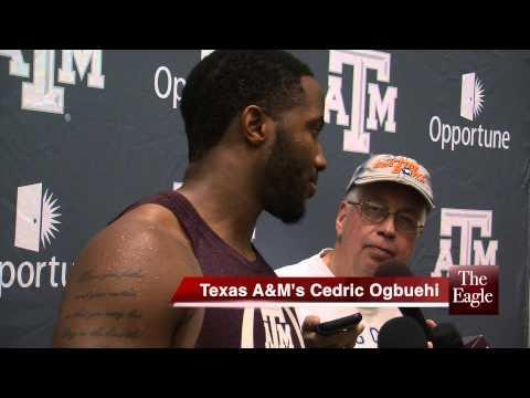 Cedric Ogbuehi press conference video.