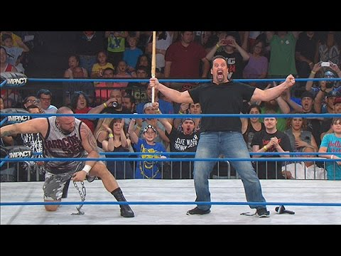 wrestling - After Bully Ray confronts Rhino for stabbing him in the back last week he gets beat down at the hands of Rhino, EC3 and Rockstar Spud. When all hope was lost...