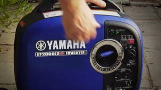 6. Yamaha Generators EF2000iSv2