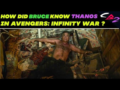 How Did Bruce Know Thanos In Avengers Infinity War ?|| Explained In Hindi ||