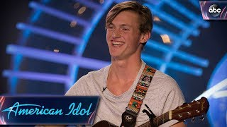 Video Jonny Brenns Auditions for American Idol With Original Love Song - American Idol 2018 on ABC MP3, 3GP, MP4, WEBM, AVI, FLV Juni 2018