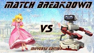 Match Breakdown! Peach vs ROB
