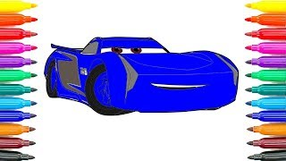 Nonton How To Draw Jackson Storm Cars 3 Coloring Pages How To Paint Jackson Storm Funny Coloring Book Film Subtitle Indonesia Streaming Movie Download