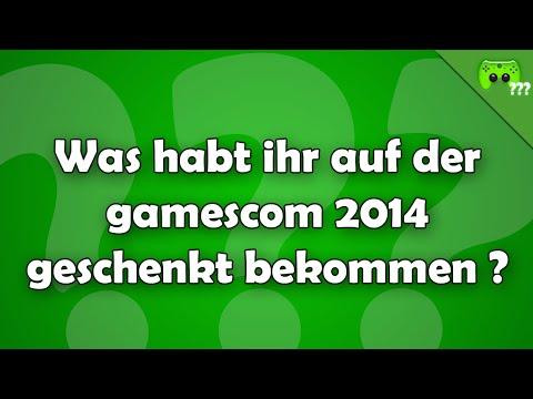 Was habt ihr auf der gamescom 2014 geschenkt bekommen ? - Frag PietSmiet ?!
