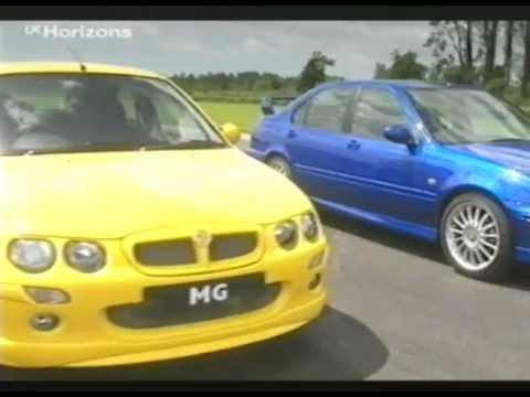 Top Gear GTi Tiff Needell Road Testing the MG ZR, ZS & ZT 2002