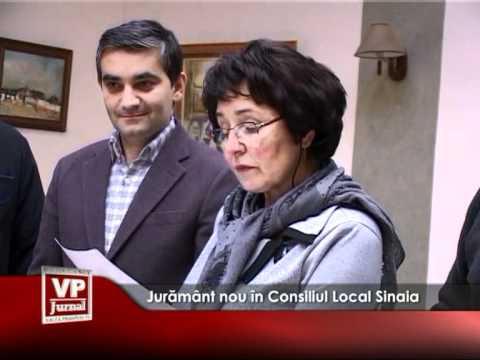 Jurământ nou în Consiliul Local Sinaia