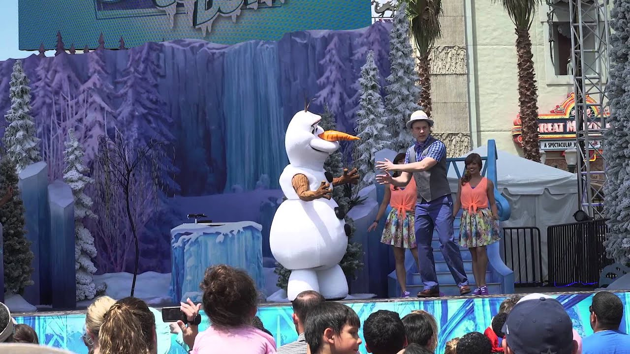 Olaf's Summer Cool Down