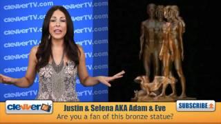 Justin Bieber&Selena Gomez Nude Statue