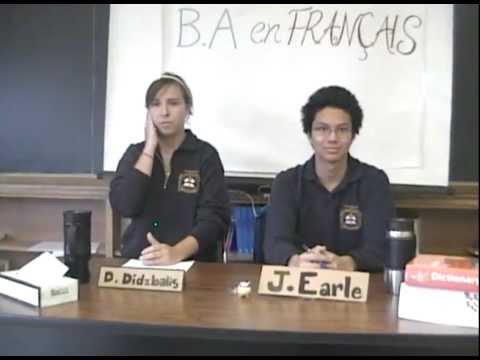 Finaliste du concours vidéo 2009: Bishop Allen Academy, Grade 12