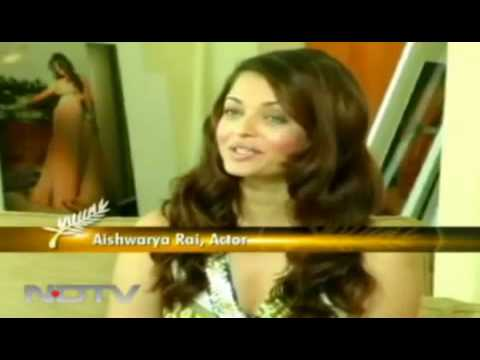 0 Aishwarya Rais Interview At Cannes For Raavan