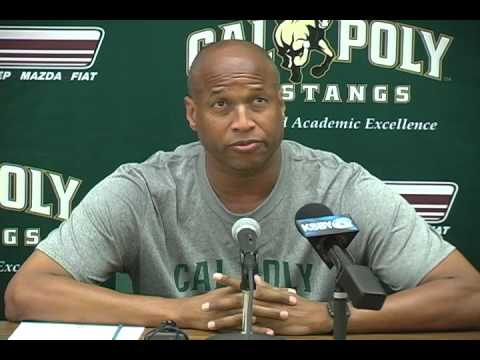 Cal Poly Men's Basketball Assistant Coach Paul Fortier