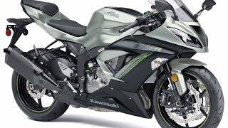 8. 2018 Kawasaki NINJA ZX-6R ABS Motorcycle