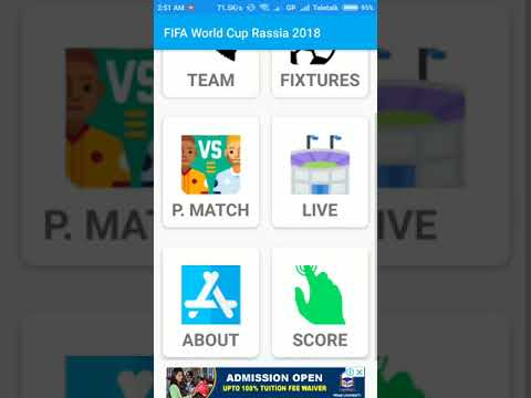 FIFA World Cup 2018 Live | Hridha Apps