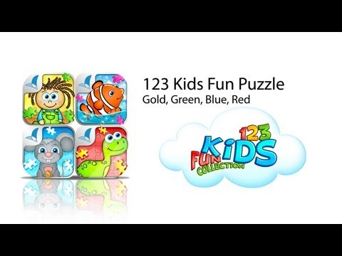 Video of 123 Kids Fun™ PUZZLE GREEN
