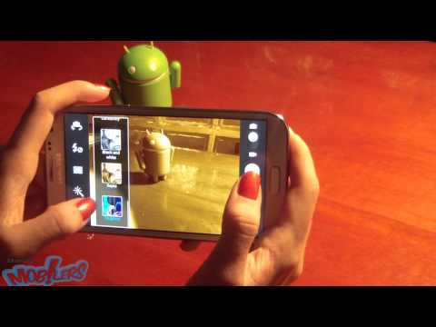 Photo/Video Camera on Samsung Galaxy Note II