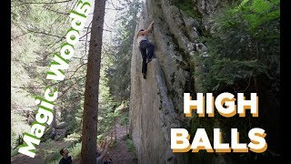 Magic Wood Highballs and Knee Bars by Bouldering DabRats