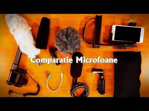 Comparatie microfoane stereo de camera conectate la telefonul Samsung Galaxy S7