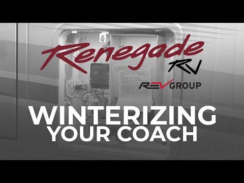 Winterizing Your Coach