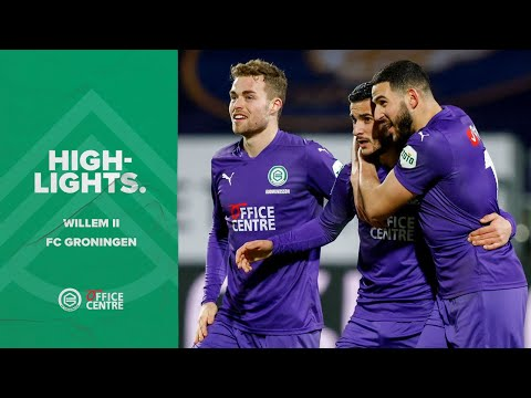 Highlights Willem II - FC Groningen