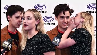 Download Video Cole Sprouse Can't Stop Flirting With Lili Reinhart ♥ MP3 3GP MP4