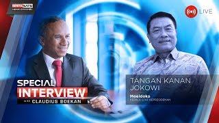 Video Special Interview bersama Kepala Staf Kepresidenan Moeldoko: Tangan Kanan Jokowi MP3, 3GP, MP4, WEBM, AVI, FLV April 2019