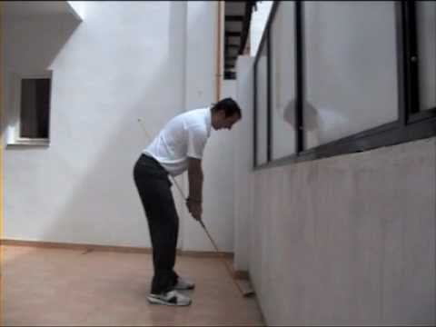 Golf tips – Andy Gordon Golf Instruction- Swing Plane practice at home