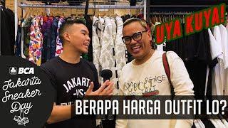 Video BERAPA HARGA OUTFIT LO? PT. 6 feat. Uya Kuya | Jakarta Sneaker Day 2019 MP3, 3GP, MP4, WEBM, AVI, FLV September 2019