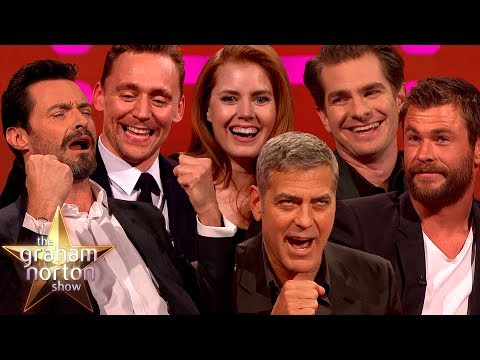 Best Comic Book Stars on The Graham Norton Show