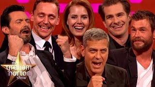 There's been a wealth of kickass comic book actors over the years on the big red sofa. Sit back and enjoy some of our favourites!Subscribe for weekly updates: http://www.youtube.com/subscription_center?add_user=officialgrahamnorton
