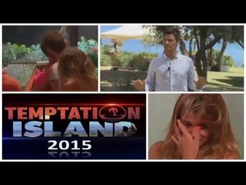 temptation island 2 - il bacio tra emanuele e fabiola
