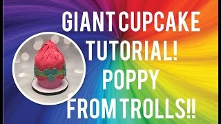 Giant Cupcake Tutorial!