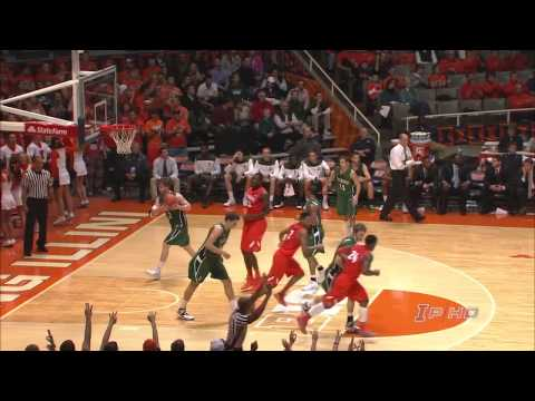 Highlights - Highlights of Illinois basketball's 72-65 wire-to-wire win over Dartmouth at State Farm Center on Dec. 10, 2013. The Fighting Illini improved to 9-1 on the s...
