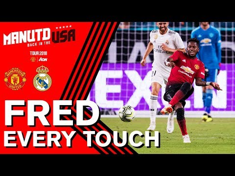 Fred | EVERY Touch V Real Madrid | Manchester United Tour 2018 Presented By Aon