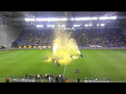 Een filmpje gemaakt tijdens de huldiging van Vitesse.