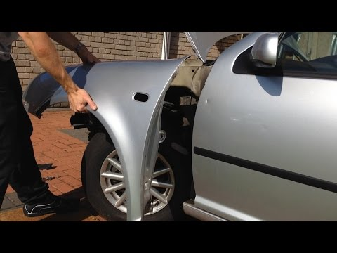 VW Golf MK4 – how to remove/replace front wing