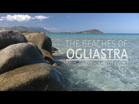 Sardinia | The Beaches of Ogliastra (видео)