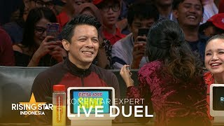 Video Keseruan Tatap Mata Ariel Challenge | Live Duel 3 | Rising Star Indonesia 2019 MP3, 3GP, MP4, WEBM, AVI, FLV April 2019
