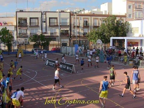 Celebración del 3 x 3 de Baloncesto en Isla Cristina