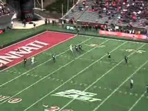 John Hughes Game Film vs UConn 2011 video.