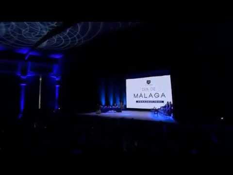 Acto institucional de la Diputación con motivo del Día de Málaga