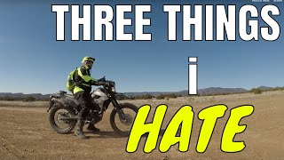 9. THREE things I hate about the KLX250 dual sport |  KLX250 review - Kind of