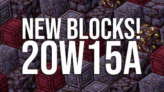 NEW Minecraft Nether Snapshot 20w15a: 20 NEW BLOCKS, New Basalt Delta Biome, Blackstone, and more!