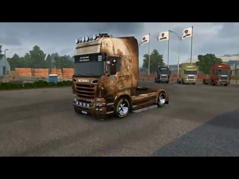 Scania R Hors Skin 1.22.x