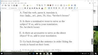 How to translate a Greek sentence