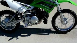6. Overview and Review: 2012 Kawasaki KLX110 Lime Green